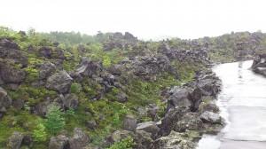 鬼押出し、見渡す限り溶岩。